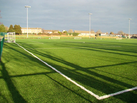 UEFA 2 star Astroturf Pitch at CSN