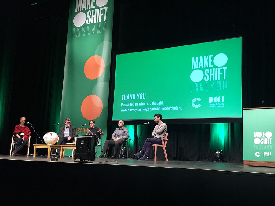 One of this year's events was attending the Make:Shift design conference in the Helix in UCD.