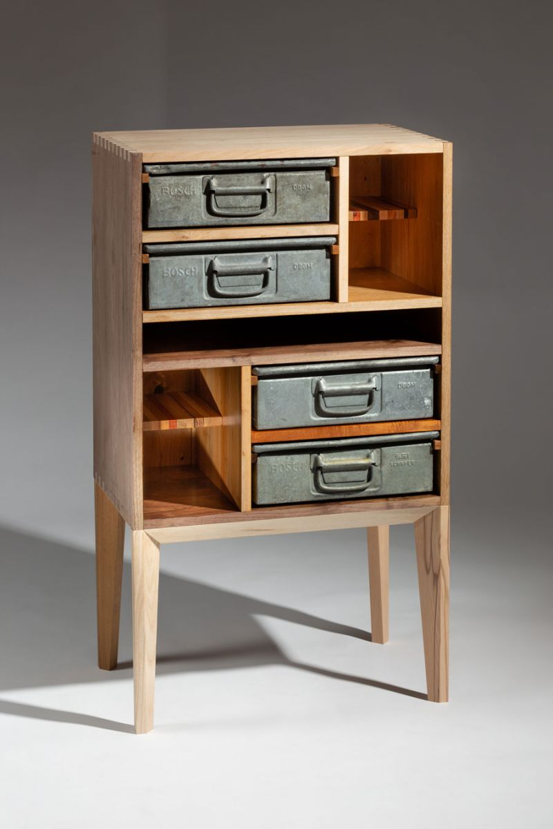 Michael McFadden – FD2 – Cabinet from upcycled materials