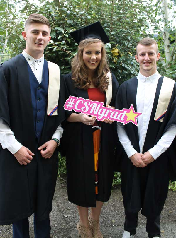 Craig Williams, Hannah McCarthy, Jamie Beadle