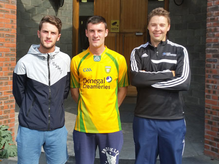 Gavin Forde, Ger McCann, Francis Courtney