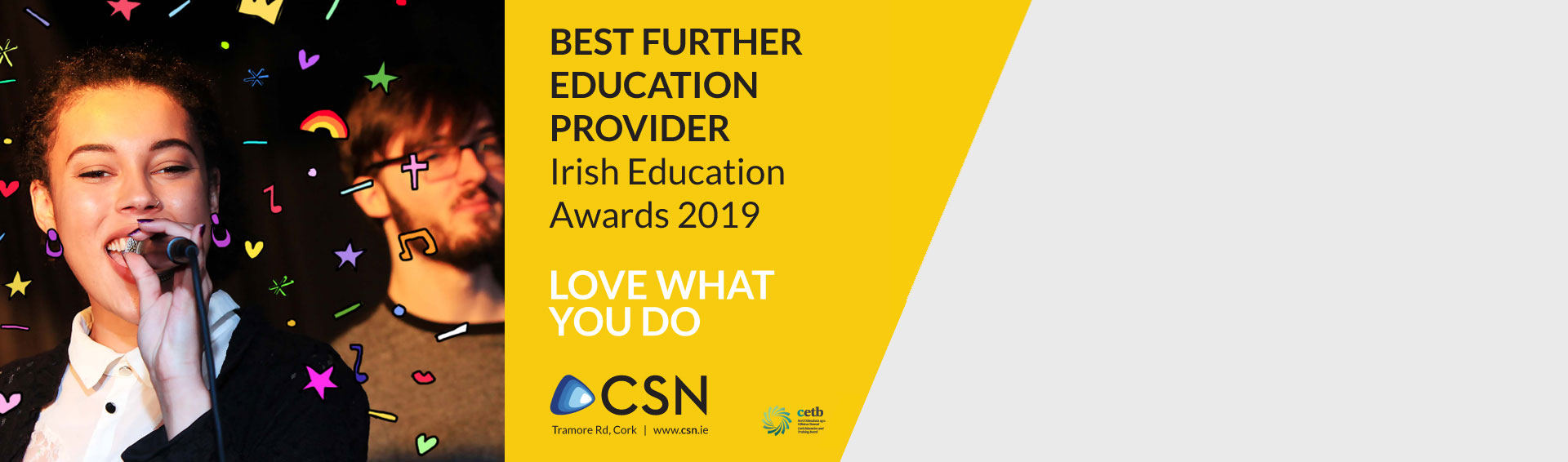 CSN Wins!  'Best Further Education Provider'  at the 2019 Education Awards