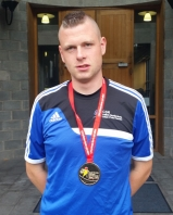 High Performance Student:  Wayne O'Callaghan who captained the Special Olympic Soccer team to Gold.