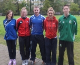 Left to right  Sarah Louise Coughlan, Sinead Duggan, Killian Barry, Yvonne Murphy, William Browne.