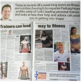 CSN Personal Training Course graduates featured in newspaper article about personal trainers