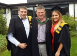 CSN Business Studies graduates Liam Byrne and Olivia O'Leary. Liam progressed into Year 2 Business Studies, CIT, and Olivia is now studying Commerce at UCC.