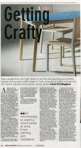 Feature in the Property Section of the Irish Examiner.