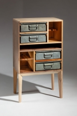 Michael McFadden's Upcycled Cabinet