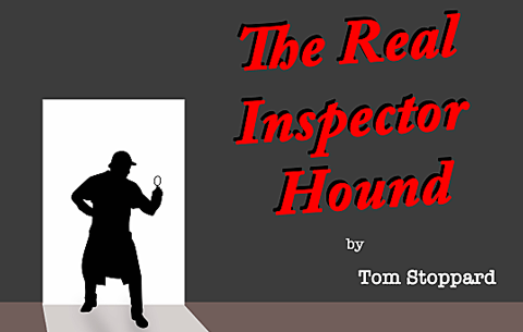 Acting for Stage & Screen presents Tom Stoppard's The Real Inspector Hound at the Granary Theatre. CSN College of Further Education, Cork